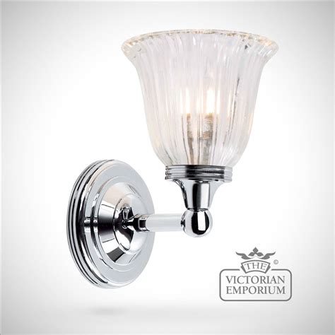 victorian bathroom lighting bathroom wall light austin 1 in polished chrome lights