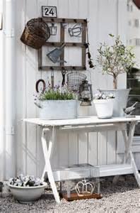 shabby chic decor garden storage