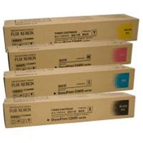 Toner Fuji Xerox Docuprint C3055dx fuji xerox docuprint c3055dx toner cartridge x 4 pack