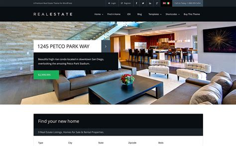10 best responsive real estate wordpress themes of 2015