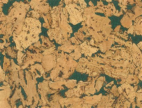 country green natural cork wall tile 3mm traditional cork