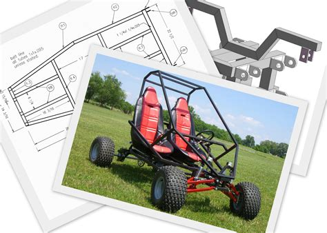 how to go about building your own home go kart plans and blueprints by spidercarts