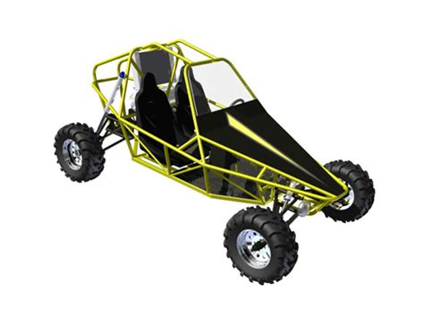design buggy frame st3 two seater buggy plans badland buggy