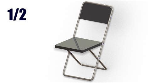 solidworks tutorial chair solidworks tutorial 123 foldable chair by surfacing