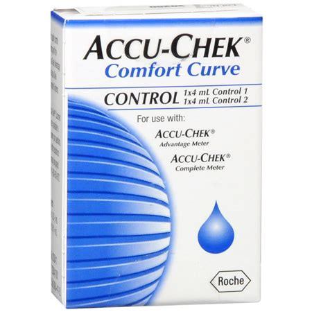 accu chek comfort curve glucose solutions 2 ea