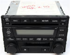 2001 2003 mazda mx 5 miata factory stereo 6 disc changer