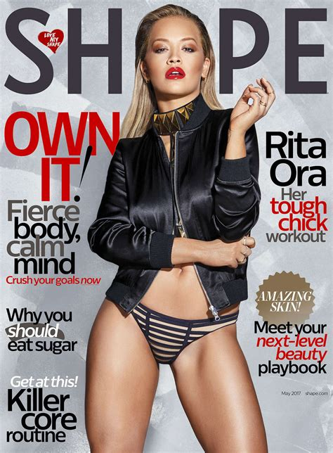 magazine may 2017 rita ora shape us magazine may 2017