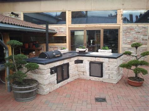 small outdoor kitchen design ideas 40 outdoor kitchen ideas designs 2016 2017 decoration y