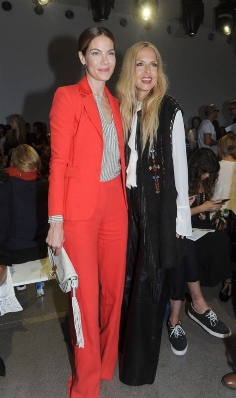 New York Fashion Week Front Row Zoe Hathaway Gisele And Co by Monaghan Y Zoe New York Fashion Week