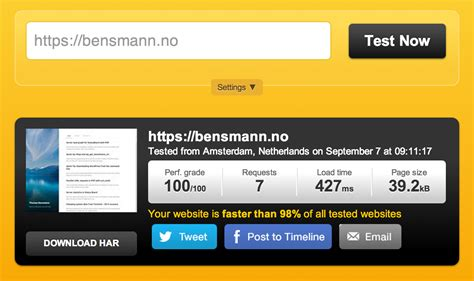 test velocita sito come testare la velocit 224 di un sito web ecco i migliori