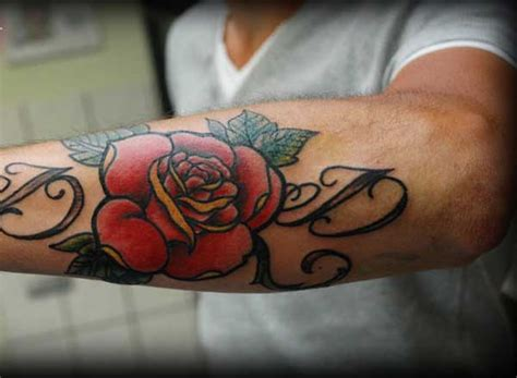 men with rose tattoos 30 amazing designs for easyday