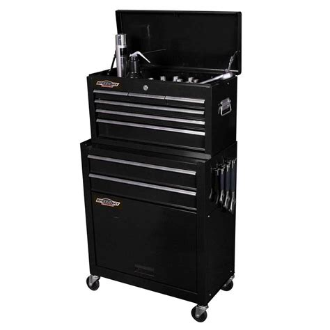 tool cabinets chests husky 41 in 13 drawer tool chest and rolling tool cabinet