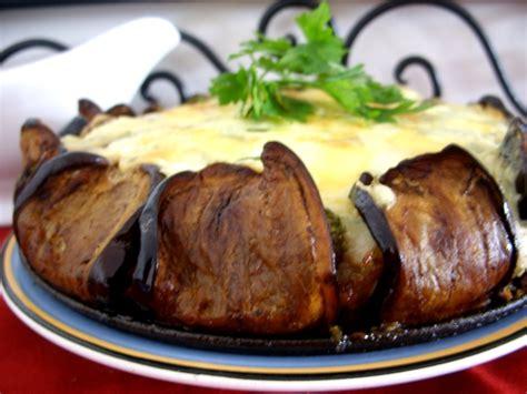 cuisine viande hach馥 recette gratin de viande hache et aubergines recette