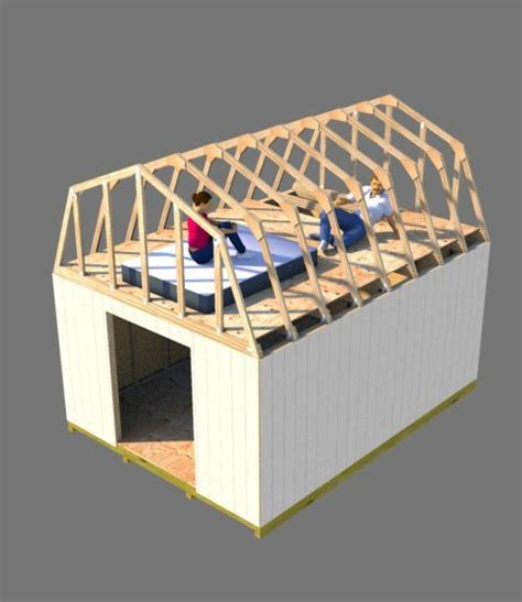 Shed With Sleeping Loft by Building A Shed Loft Made Easy