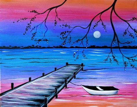 imagenes para dibujar en lienzo faciles imagenes de paisajes faciles para dibujar y pintar