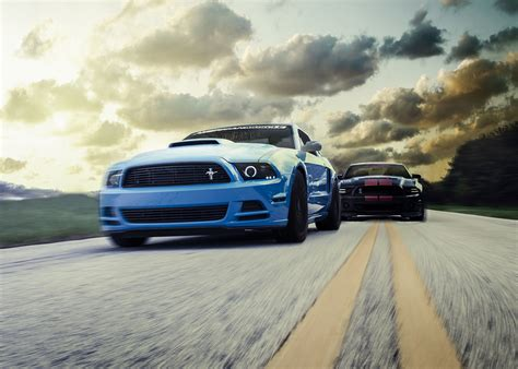 mustang gt vs gt500 david vs goliath beating a gt500 with a gt