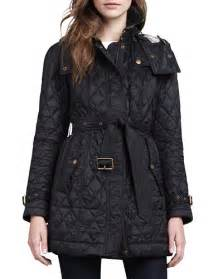 burberry finsbridge hooded quilted jacket