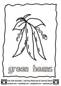 color bean beans coloring pages coloring home