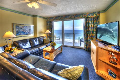Daytona Room by Condo Living Room With View Of Daytona