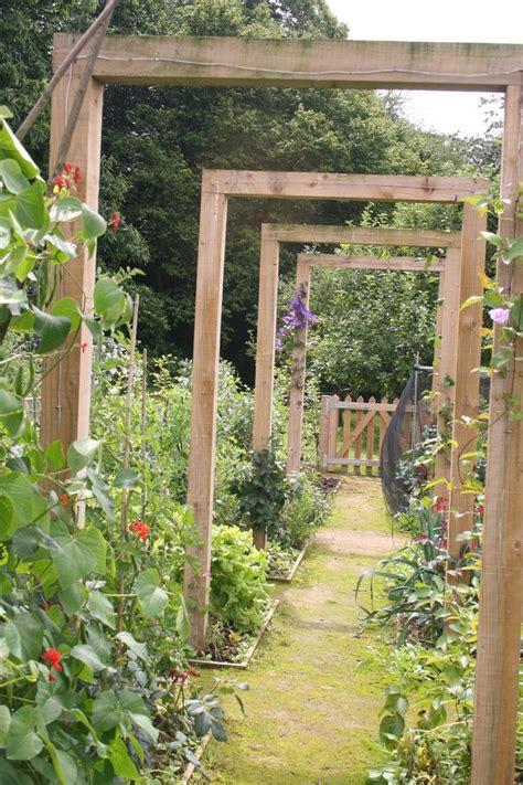 Kitchen Garden Arbor 25 Best Ideas About Hillside Garden On Hill