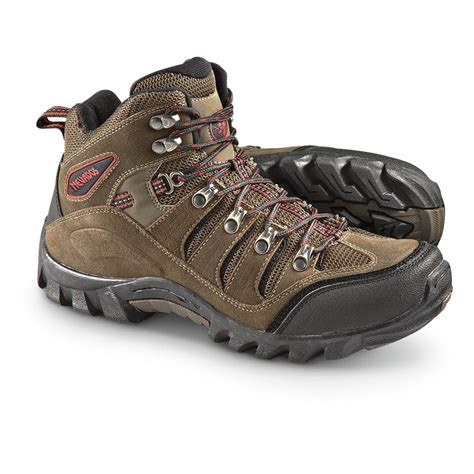 mens brown hiking boots s nevados 174 basque mid hiking boots brown 297345