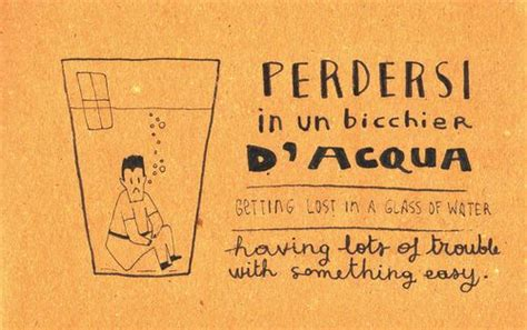 perdersi in un bicchier d acqua 133 best parole italiane italian words images on