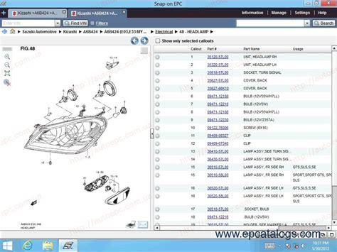 online service manuals 1987 suzuki swift spare parts catalogs suzuki worldwide epc5 2013 spare parts catalog download