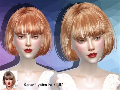 butterfly sims hair sims 4 b fly hair 197 pay by yoyo at butterfly sims 187 sims 4