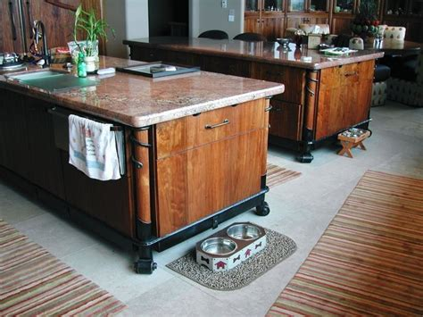 Iron Kitchen Island by Hand Crafted Iron Stands For Kitchen Islands By Brian