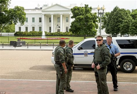 white house police secret service shoot armed man outside the white house and leave him in critical