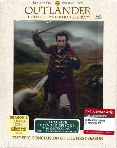 Bd Ps4 Pes2018 Exclusive Edition Reg 2 outlander season 1 volume 2 collector s edition w stationary set bd digital copy