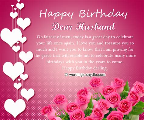 Happy Birthday Wish To Husband Birthday Wishes For Husband Husband Birthday Messages And