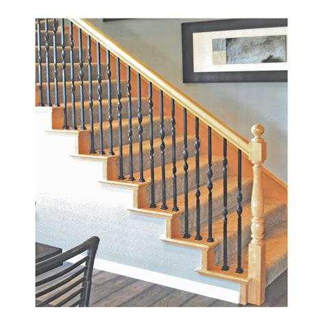 iron banisters double ribbon iron baluster stair parts com