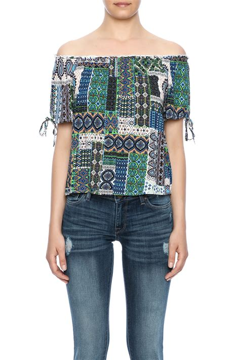 Patchwork Tops - loveriche patchwork top from by shoptiques