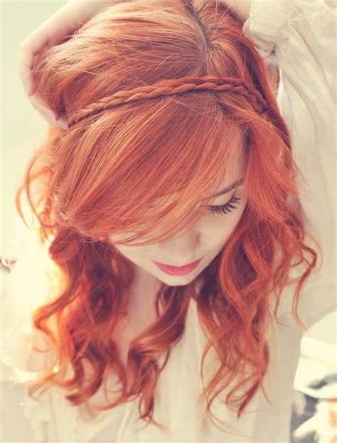 formal hairstyles red hair unique red prom hairstyles with side swept bangs 2015