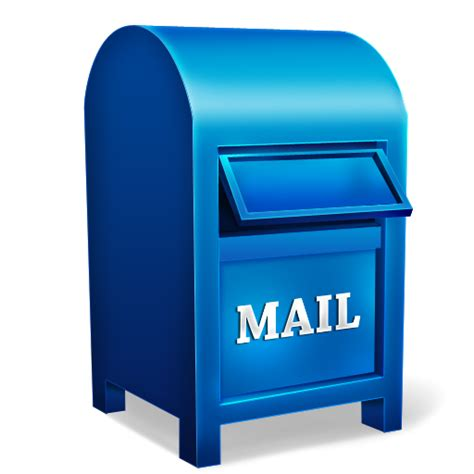 Post Office Box Lookup Free Mail Box Icon Png Clipart Image Iconbug
