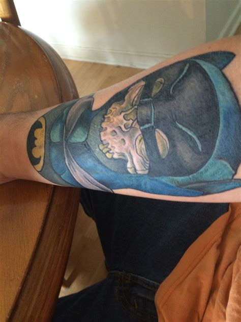 batman dog tattoo my newest tattoo adam west definitely batman