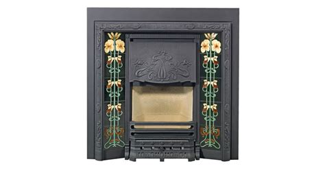 Lined Fireplace Tiles by Evening Primrose Fireplace Tiles Stovax Classic
