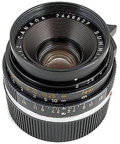 35mm f/2 summicron ii leica wiki (english)
