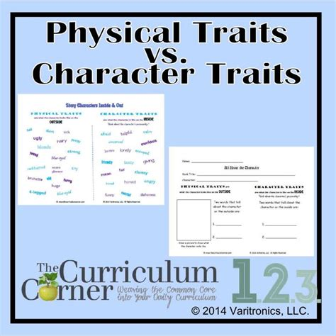 physical traits vs character traits student an and the