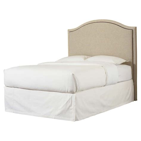 bassett upholstered beds bassett 1993 h59f upholstered beds vienna arched headboard