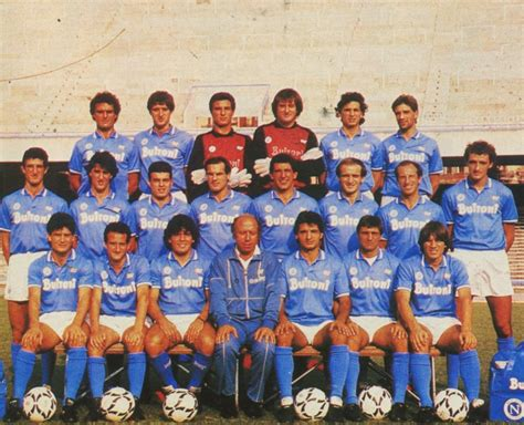rosa pavia calcio societ 224 sportiva calcio napoli 1986 1987 wikiwand