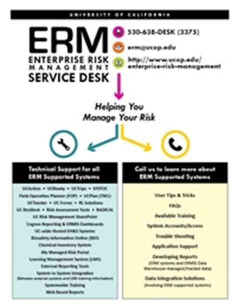 Uc Help Desk by Erm Service Desk Ucop