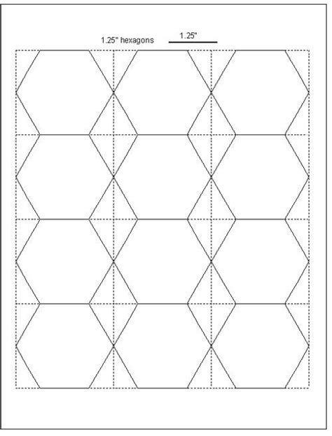 hexagon quilt template plastic easy cut hexagon templates for epp free