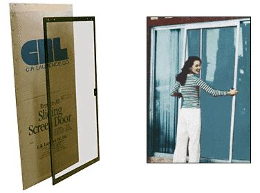 How To Remove A Sliding Screen Door by Crl Bronze 36 Quot Replace All Sliding Screen Doors