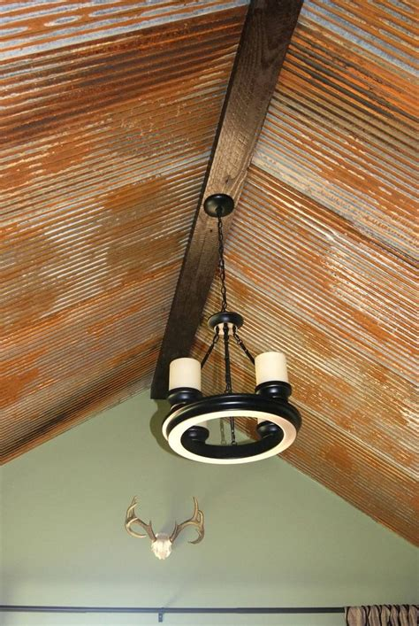 rustic tin ceiling barn tin ceiling house to do done
