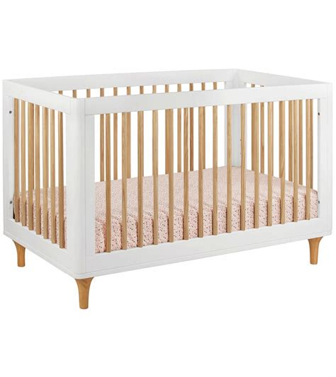 3 In 1 Convertible Cribs Babyletto Lolly 3 In 1 Convertible Crib With Toddler Bed Conversion Kit In White