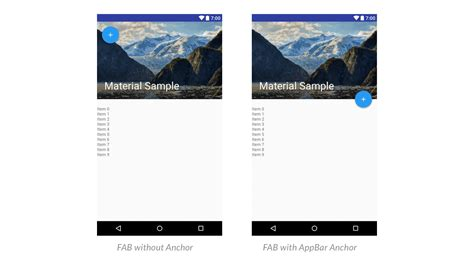 flex layout animation toolbar animation with android design support library