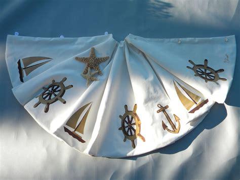 ltd edition nautical christmas tree skirt 52 ship s