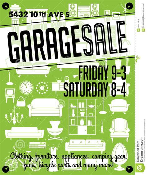 printables to help you pull off an organized multi family garage